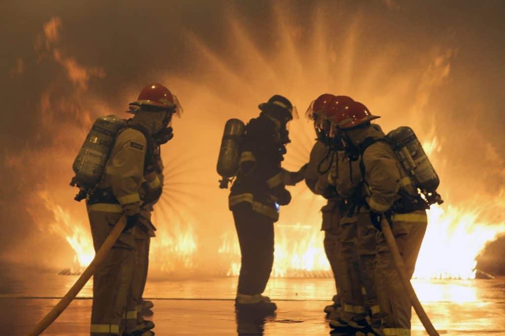 brandweer zaklamp