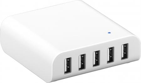 powerbank usb-thuislader-5x-usb